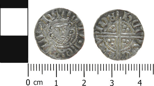 LVPL-8E10B2: Medieval penny of Henry III
