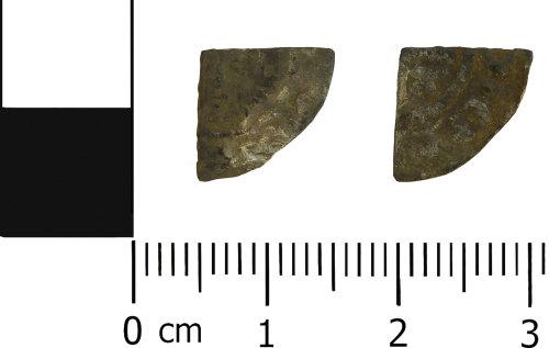 LVPL-93FD79: Medieval cut farthing