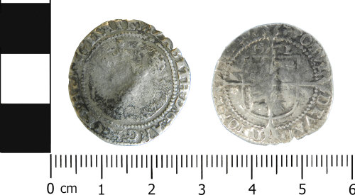 LVPL-9DC298: Post-medieval sixpence of Elizabeth I