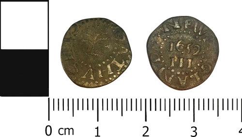 LVPL-9E9604: Post-medieval Massachusetts three pence