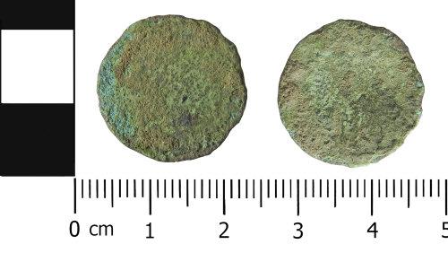 LVPL-9F0C0C: Roman nummus or radiate