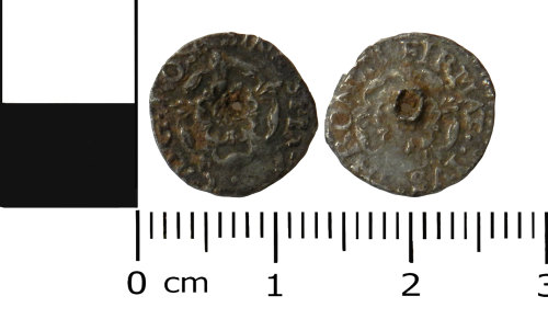 LVPL-A2F95B: Post-Medieval penny of Charles I