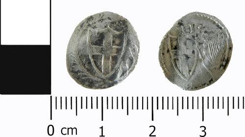 LVPL-B0A198: Post-medieval commonwealth halfgroat