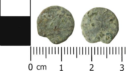 LVPL-B1928E: Roman radiate or nummus