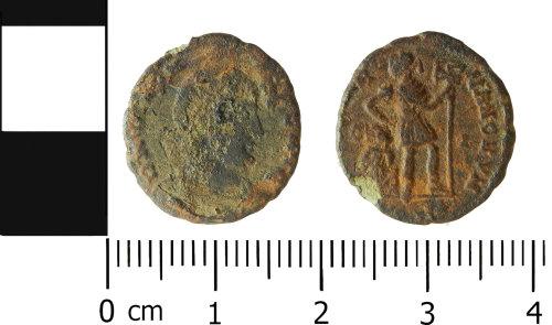 LVPL-B8DB77: Roman nummus of the House of Valentinian