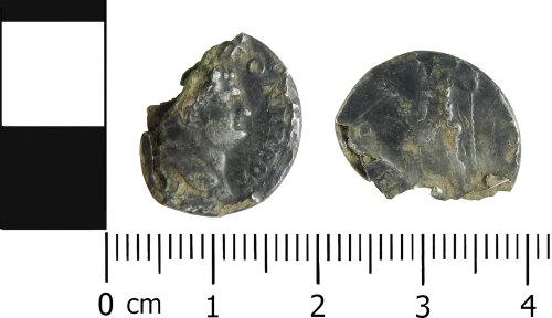 LVPL-C39AFB: Roman plated denarius