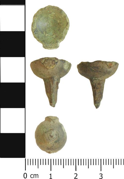 LVPL-C60C6D: Iron Age stud