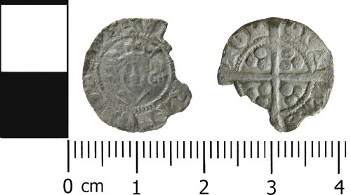 LVPL-CA277F: Medieval penny of Edward I