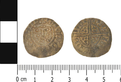 LVPL-CB2EE9: Medieval penny of Henry III