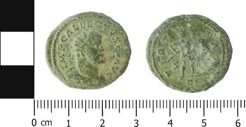 LVPL-E1F72D: Roman radiate of Allectus