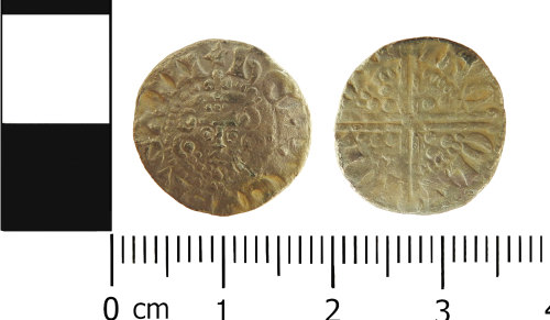 LVPL-F3E116: Medieval penny of Henry III