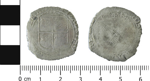 LVPL-F58B0F: Post-medieval Irish shilling of Elizabeth I