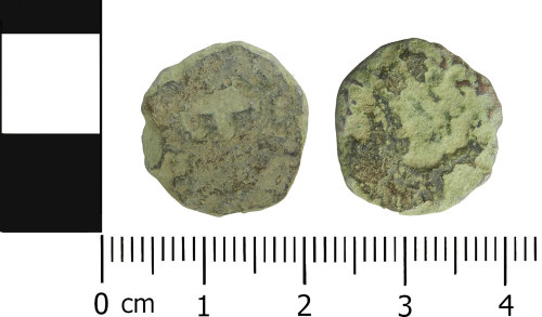LVPL-F6F6BB: Roman radiate or nummus