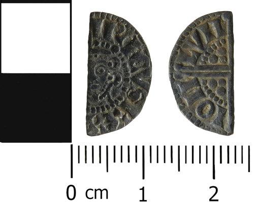 LVPL-FF28C3: Medieval half penny of Henry III