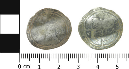 LVPL-7628A3: Post-medieval sixpence of Elizabeth I