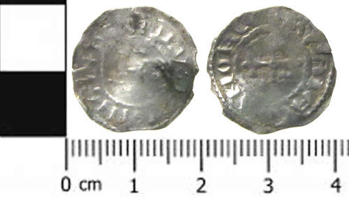 SWYOR-C463D7: a medieval coin: a penny of Henry I