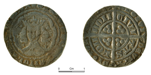 NMGW-11D242: Medieval silver groat Edward III