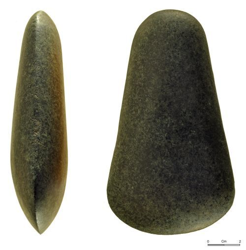 NMGW-4B403A: Neolithic polished stone axe, c. 3500 – 2500BC