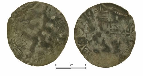 NMGW-5DCC07: Post medieval coin: Elizabeth I, groat, London