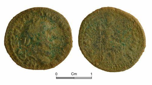 NMGW-5C4A6D: Roman Coin: Counterfeit denarius of Vespasian