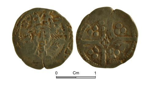 NMGW-72CF7D: Medieval coin: Henry V, penny, York