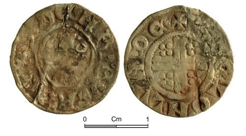 NMGW-05C915: Medieval coin: Henry III Short Cross penny