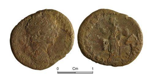 NMGW-98D28E: Roman coin: Trajan, denarius, Rome