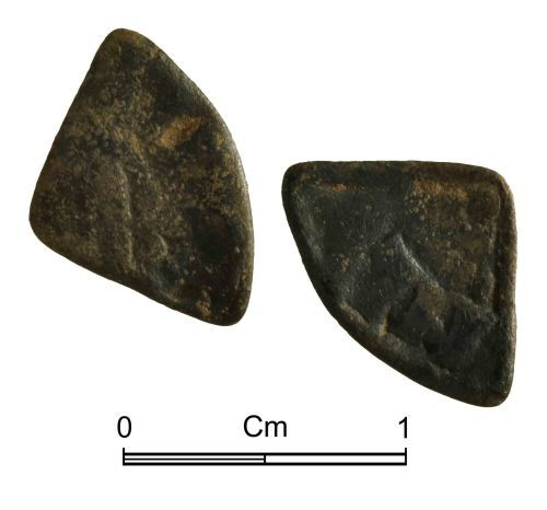 NMGW-BBCBAD: Medieval Coin: Henry III 'Long Cross' cut farthing