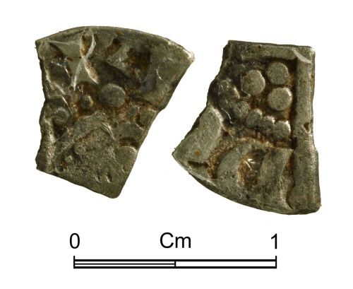 NMGW-68A0B6: Medieval Coin: Long Cross cut farthing, otherwise uncertain