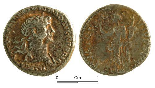NMGW-69E49A: Roman Coin: Trajan, denarius, Rome