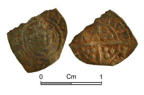 NMGW-69FC49: Medieval Coin: Edward I-II, farthing, London