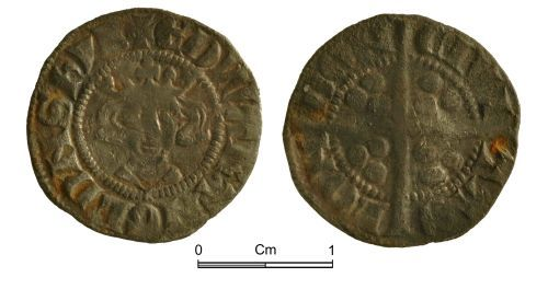 NMGW-D19A74: Medieval Coin: Edward II, penny, London