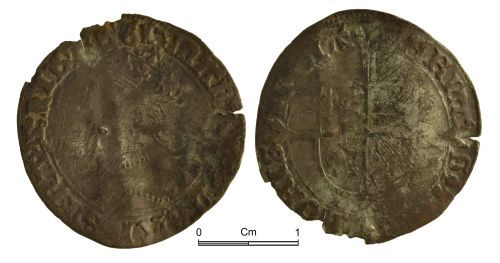 NMGW-D1FAAE: Post Medieval Coin: Mary, groat, London