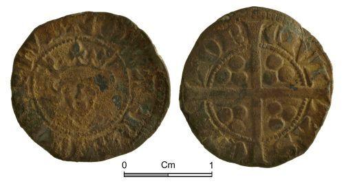 NMGW-BF8A98: Medieval Coin: Edward II, penny, Canterbury