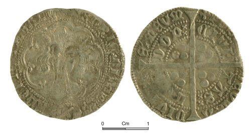 NMGW-7D4299: Medieval Coin: Henry VI, groat, London
