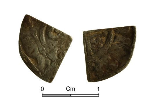 NMGW-D40FBD: Medieval Coin: Henry III, Long Cross penny