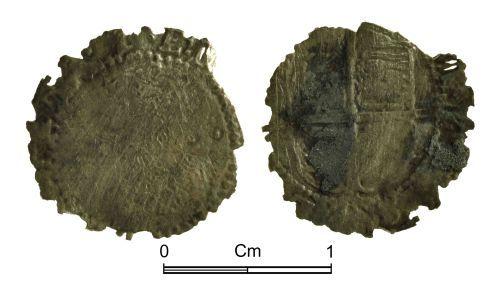 NMGW-539C05: Post Medieval Coin: Elizabeth I, half groat, London