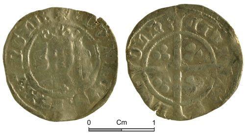 NMGW-54ADC8: Medieval Coin: Edward III, penny, Durham