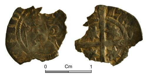 NMGW-552544: Medieval Coin: Scotland, Alexander III, penny, second coinage
