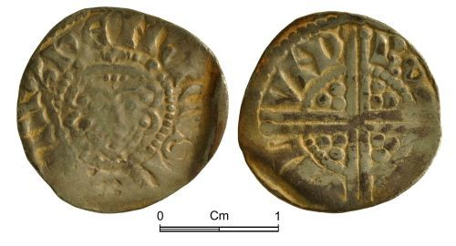 NMGW-D5E879: Medieval Coin: Henry III, Long Cross penny