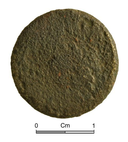 NMGW-E8FBD3: Post Medieval Coin: Early 18th century with portrait of William III