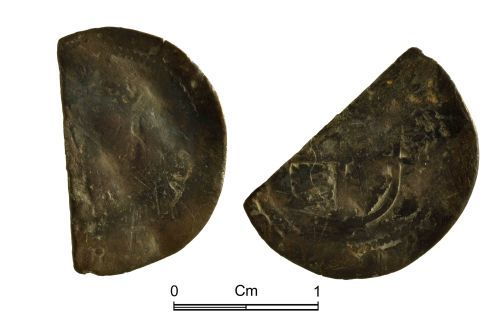 NMGW-E938CC: Post Medieval Coin: worn and fragmentary