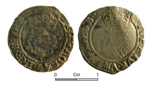 NMGW-4D64E4: Post Medieval Coin: James I; half groat, London