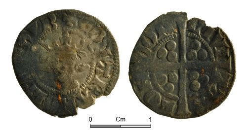 NMGW-504642: Medieval Coin: Edward II; penny, London