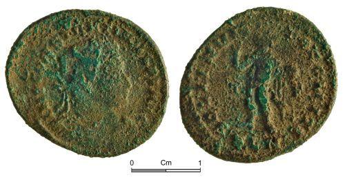 NMGW-0DB6A0: Roman Coin: Constantine I; nummus, London