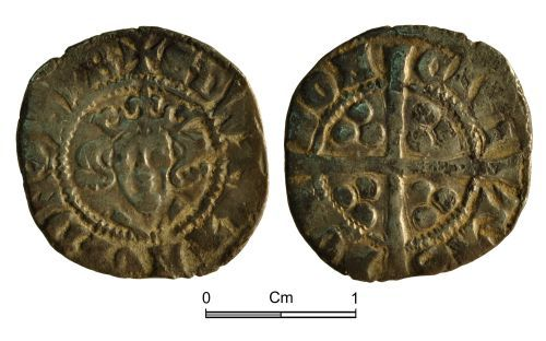 NMGW-7B0D4B: Medieval Coin: Edward I; penny, London
