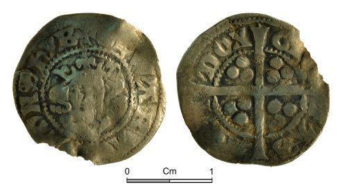 NMGW-B5CE6E: Medieval Coin: Edward I; penny, London