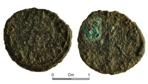 NMGW-A1B0D1: Roman Coin: Claudius II; radiate, Milan