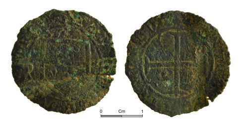 NMGW-650F8D: Medieval Coin: French or Tournai, probably of 15th century date