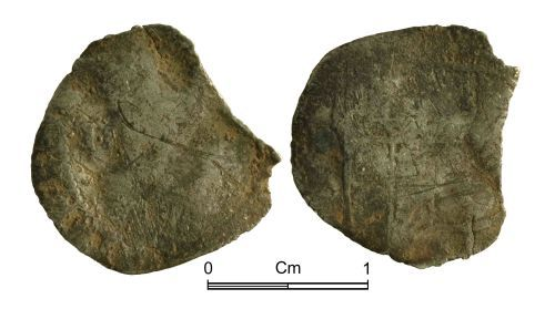 NMGW-2382DE: Post Medieval Coin: James I, half groat, first coinage